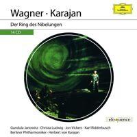 KARAJAN -WAGNER: DER RING DES NIBELUNGEN (ELOQUENCE)  14 CD NEW