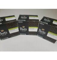 3-Peet's Coffee Decaf House Blend Dark Roast K-Cup Pods 16 Count Best By 08/2020