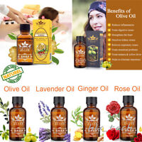 100% PURE Plant Therapy Lymphatic Drainage Ginger/Rose/Olive Oil | High Quality