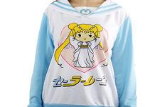Cute New Sailor Moon Sailor Suit Casual Coat Sweats Hoodies Top Girl's Costumes