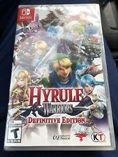 Hyrule Warriors: Definitive Edition (Nintendo Switch, 2018) sealed