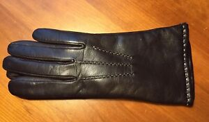 Coach Leather Gloves. Size 6-61/2