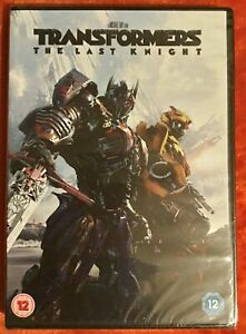 Transformers The Last Knight DVD (New and Sealed)