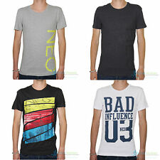 adidas Cotton Blend Crew Neck Fitted T-Shirts for Men