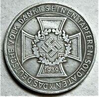 '39 - '41 WW2 GERMAN COMMEMORATIVE COLLECTORS REICHSMARK COIN