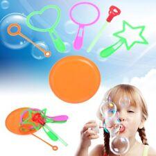 6pcs/set Blowing Bubble Soap Tools Toy Bubble Sticks Set Outdoor Toy Kids Toy
