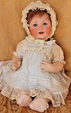"""16"""" Antique bisque head Character baby  JDK 247  Hilda's Sister ~ Kestner H 12"""