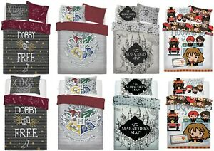 Harry Potter Duvet Covers Single/Double Muggles Hogwarts Ticket