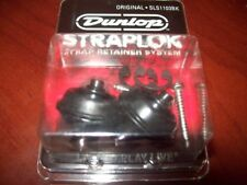 NEW Dunlop Original Straplok Strap Lock System - BLACK, SLS1103BK
