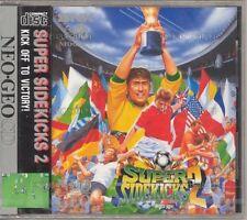 Snk Neo Geo CD Tokuten Oh 2 Súper Side Kicks Japón JP Juego con / Lomo y418 F /
