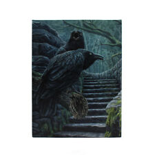 GOTHIC CROW CANVAS 'WATCHMEN' BY LISA PARKER CROWS MYTHICAL WALL ART