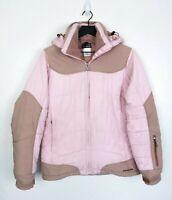 Patagonia Women's Pink Hooded Puffer Jacket Size M