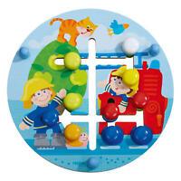 HABA Motorikbrett Feuerwehr Welt Baby Spiel Motorikspiel Holzspielzeug Spielzeug