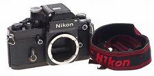 NIKON F2 PHOTOMIC DP-1 PRISM CAMERA 35mm BODY STRAP NR