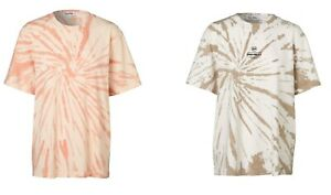 """""""Ena Pelly"""" Ladies Tie Dye T-Shirt S/Sleeve Graphic Relaxed Fit Jersey Tee Tops"""