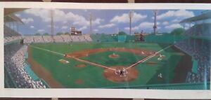 """Grand Old Griffith"" 16x36 Ballpark  Purdom - 156/600 Signed Senators v Red Sox"
