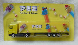 PEZ LKW-Modell. Werbetruck - Naschen & Spielen - Originalverpackt