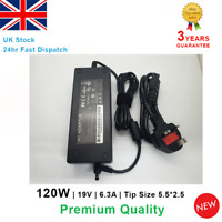 Laptop AC Adapter Charger for Lenovo Ideapad Y570 Y560 B470 B475 120W 19V 6.3A