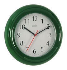 Acctim 21415 Wycombe Wall Clock Green 21415 Ck1415