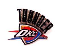 NBA, Oklahoma City Thunder Logo Pin