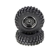 Monstertronic Crawler Ruote 1 10 alluminio Cerchioni Nero 90mmx40mm