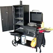 BBQ Grill, Smoker, Räucherofen und Holzkohlegrill in einem -der praktische Grill