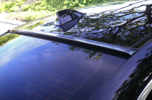 JR2 CARBON PRING Fit 2011-2014 CADILLAC CTS 2D Coupe-Rear Window Roof Spoiler