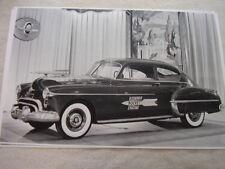 1952 OLDSMOBILE 2DR WITH CLEAR HOOD ON DISPLAY  11 X 17  PHOTO  PICTURE