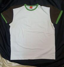 Hugo Boss maglietta t-shirt color bianco white cotton/elastane size taglia M