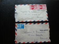 VENEZUELA - 2 enveloppes (cy81)
