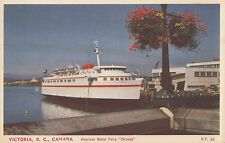 American Motor Ferry Chinook VICTORIA BC Canada Coast Publishing Postcard VT 26