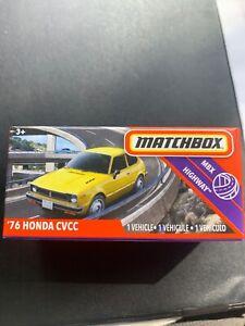 Matchbox Power Grabs 76 Honda Cvcc New Rare