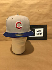 Chicago Cubs New Era 9FIFTY Performance Basic Snapback Grey/Royal New With Tags!