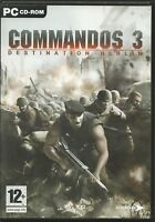 Commandos 3 Destination Berlin (engl) (PC Nur Steam Key Download Code) Keine DVD
