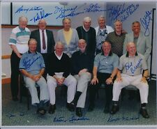 NHL ALUMNI PHOTO SIGNED BY 12 PLAYERS WATSON BODNAR BREWER SLOAN