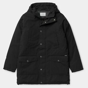 Carhartt WIP Trooper Water Repellent Parka Hooded Coat Size Large RRP £235