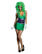 "Joker para mujer DC Supervillian Traje, Pequeño, (EE. UU. 6-10), cintura busto 36-38"", 27-30"""