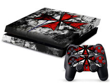 Bio-Hazard Skin Vinyl Decal Sticker for the PlayStation 4 Console PS4
