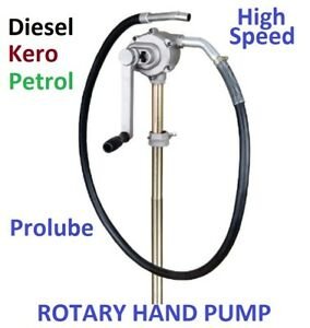 ROTARY HAND PUMP - FOR PETROL AND DIESEL, HIGH SPEED