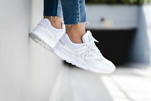 New Balance CW997 Womens Leather Sneaker White