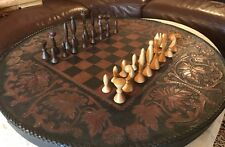 Mid Century Universum 32 Space Age Chess Pieces ANRI Italy by Arthur Elliott