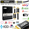 PREMIUM HDMI Cable High Speed V2 4K 2160p 3D Lead 1m/2m/3m/4m/5m/7m/10m/15m/20M