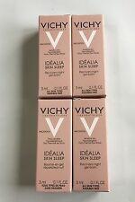Vichy Idealia Skin Sleep Recovery Night Balm 4x3ml New