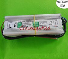 100W Waterproof Constant Current LED Driver AC85-265V to DC30-36V 3000mA 10C10B