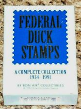 Federal Duck Stamps Boxed set of 60 cards by Bon Air in 1992.