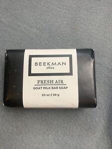 Beekman 1802 FRESH AIR Goat Milk Soap, 3.5 oz PALM SIZED Bar *NEW*