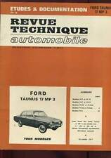 REVUE TECHNIQUE AUTOMOBILE. FORD TAUNUS 17 MP . 1971.