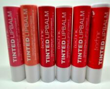 Set of 6 Technic Tinted Lip Balm With Added Vitamin E Make Up