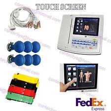 Digital 12 Channel 12 lead ECG/EKG machine+software Electrocardiograph US seller