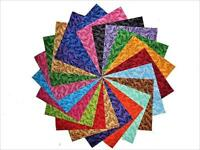 """15 10"""" Majestic Tonal Quilting Fabric Layer Cake Squares Buy It Now"""